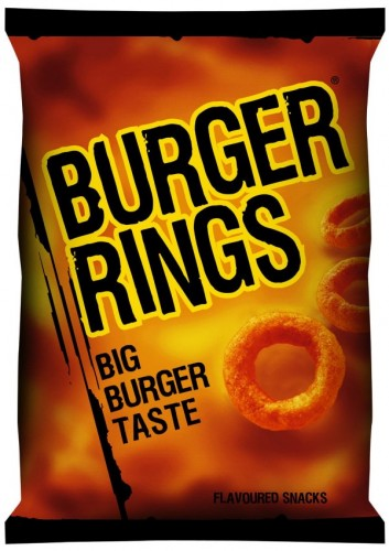 Day #9 – 10-Day Unique Food Snack Challenge – Burger Rings