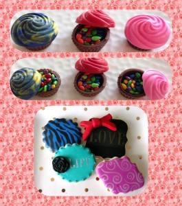 Chocolate Cupcake Cups